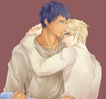 Aokise - It's time for bed. by i-Shinnie