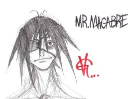 ORIGINAL character MR.Macabre by skullmunky