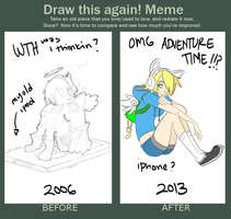 Draw this again? by DemonDice