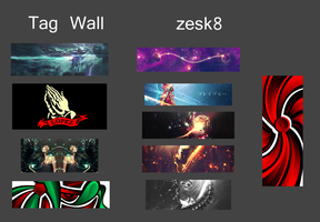 Tag Wall No.8 by zesk8