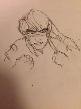 idk how to draw fists by JuniperTheWolf