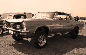 GTO GASSER-3 bw by StallionDesigns