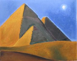 Pyramids by r0ketman