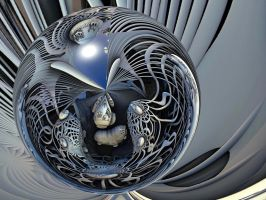 Translucent Sphere created with Intertwined by marijeberting