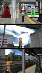 Petra's First Day: Off the train by MadNimrod