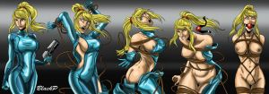 The evolution of Samus Aran by BlackProf