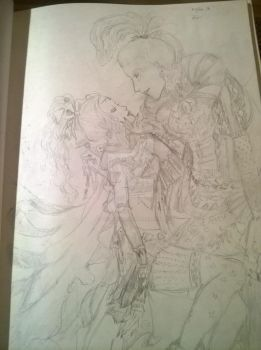 Kefka and Terra reproduction by Druid-Lesny