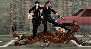 Jill-Claire BSAA PEST CONTROL by blw7920