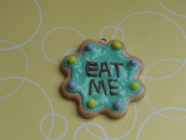 Kawaii Clay Eat Me Cookie by CraftyOlivia