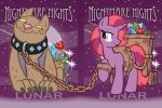 Nightmare Nights 2014 Lunar Badges by joeartguy