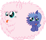 Request:  Fluffle Puff and Woona by T-3000