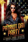 Patriot Day Flyer Template by ayumadesign