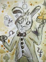 The Mad March Hare by ElyneNoir