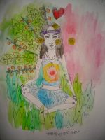 tangerine tree by tea-peace