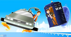 Back to the future Doctor Who by CPD-91