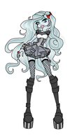 Monster High OC Phantella by Vanilla-Cat