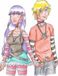 The Punk and The Princess by PicturePixie