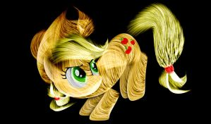 Applejack Fractal Type Thingy by InternationalTCK