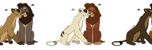Lion Breedables CLOSED by MikasAdoptables