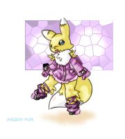 RENAMON-CHIBI by GREAT-WOLF