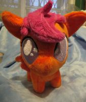 Chibi Chicken Plushie by buttsnstuff