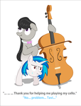 Two in one: ''VinylTavia'' by UltraTheHedgetoaster