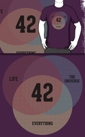 Life, the Universe and Everything (Redbubble) by armageddon
