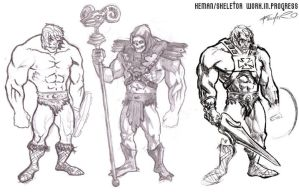 masters of the universe sketch by saTHOMASo