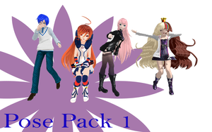 MMD Pose Pack 1 by MMD-Nay-PMD