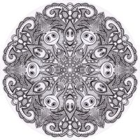 Mandala drawing 22 by Mandala-Jim