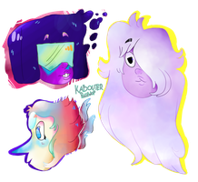 Gems Of Crystal by KabouterPollewop