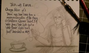 Tea with Liam - Orange pekoe 1 by SinistrosePhosphate