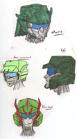 Transformers Heads: Roadbuster by xenotechnophile