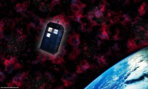 Wallpaper - Tardis by Didi-hime