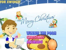 Winnie The Pooh Christmas Animado by TiagoEditions