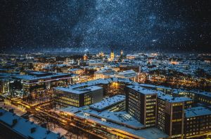 Tallinn with stars by dn1w3r