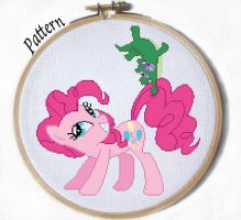 Pinkie Pie and Gummy Cross stitch pattern by JuliefooDesigns