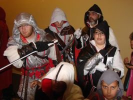 the Assassins creed brotherhood by wolvesforever122