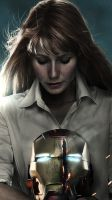 IronMan 3 - Pepper Potts (iphone5) by flavorOne