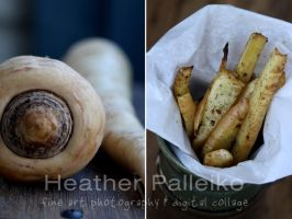 Roasted Parsnips by hpdphotos