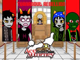 Karkat Vantas Ace Attorney- Turnabout Rebellion by Nfreak974