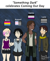 Something Dark celebrates Coming Out Day! by JocelynSamara