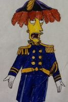 Sideshow Bob and the HMS Pinafore by glittergirl79