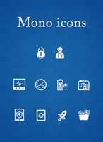Mono icons by jjfwh