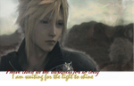 Cloud Strife Banner by Jedi-Hornist