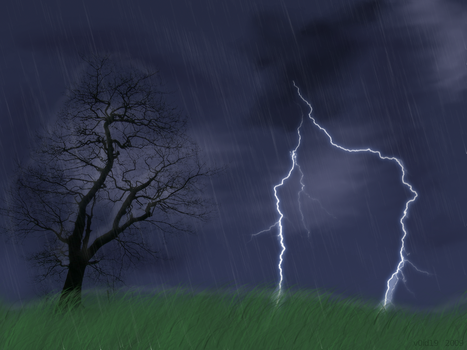 Thunderstorm by v0id19