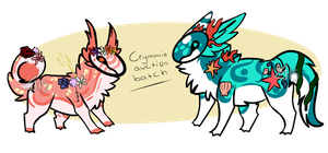 double crymmie auction batch /CLOSED/ by Girryy
