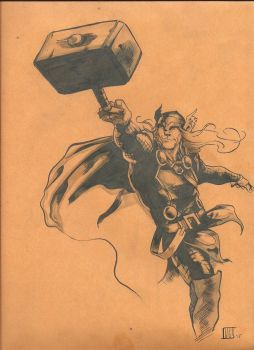 Thor Envelope by nathancyounger