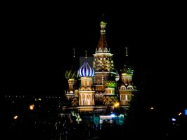 St. Basil's Cathedral by downfromheaven