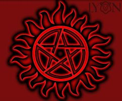 Supernatural Tattoo Vector Art by DrChillRoach